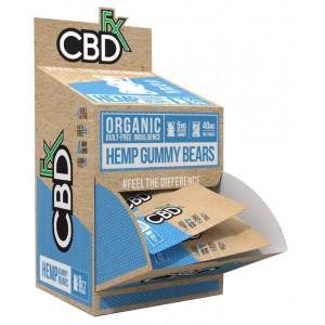 CBDfx Gummies with Turmeric & Spirulina - 40MG (30ct POS Display)