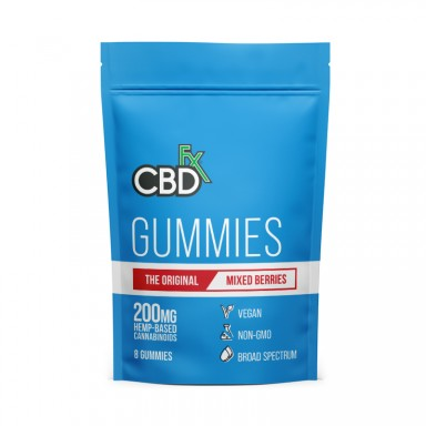 CBDfx Gummies - 200mg (8 ct. pouch)