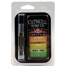 Catskill Hemp Co. - 900mg Delta 8 Cartridge (8 ct. Box)